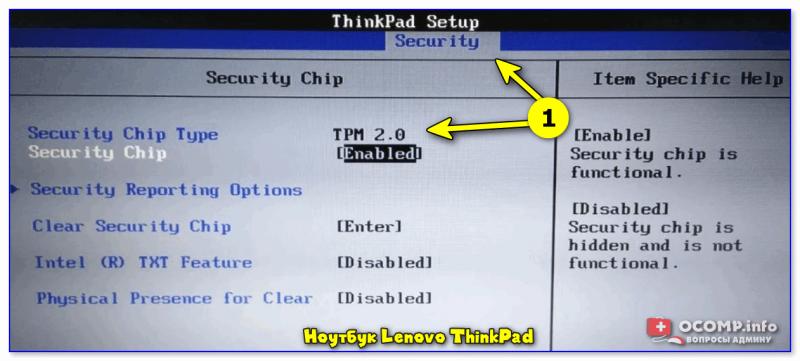 Ноутбук Lenovo ThinkPad