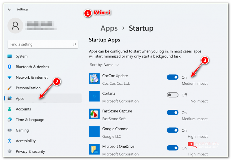 Программы - автозагрузка (Apps / Startup)